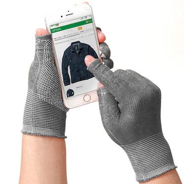 指先が使える手袋 スライドタッチeks