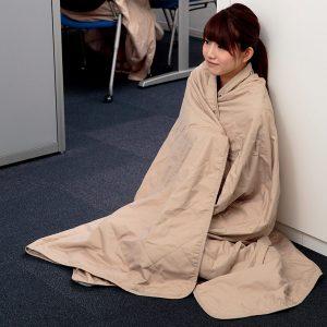 防災マイクロファイバー毛布